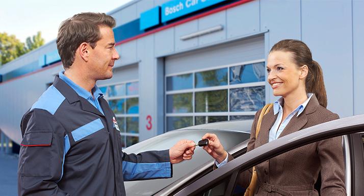 Bosch Car Service fait tout pour votre voiture